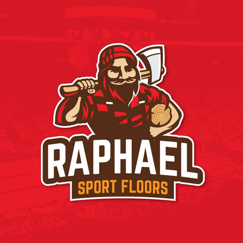 Sport style character logo