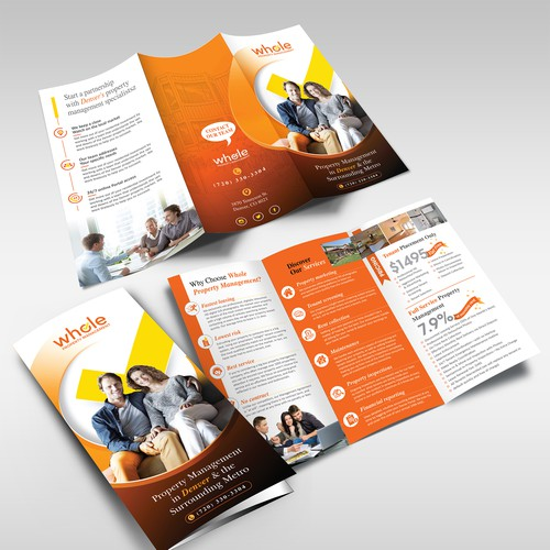 Property Management Marketing Trifold (Real Estate)