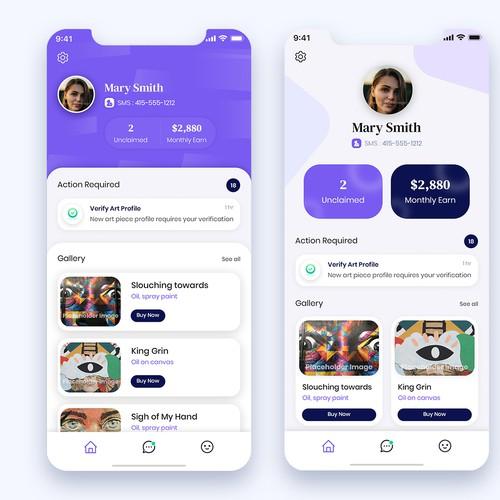 Shiba - New Art Gallery Mobile App