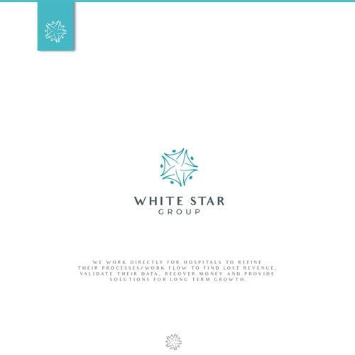 White Star Group Logo design.