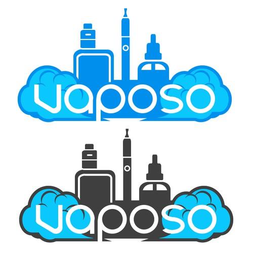 2nd Logo design for Vaposo