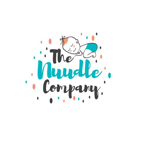Cute logo for a babyware business