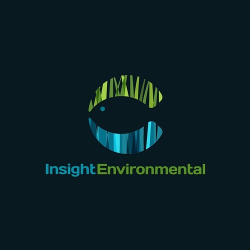 Something fishy? Logo and business card design for a biologist at Insight Environmental Solutions.