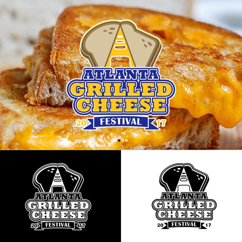 Logo for Atlanta Grilled Cheese Festival