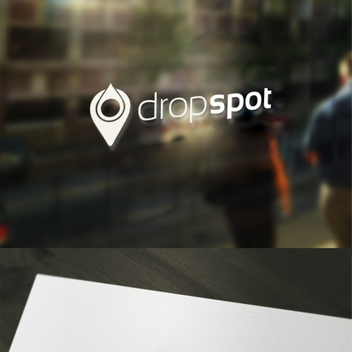 Design a sleek and sexy logo for Drop Spot laundry.