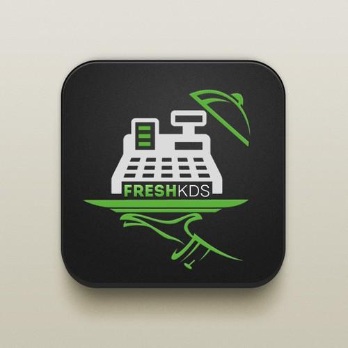 App Icon for New Restaurant Technology, FreshKDS!