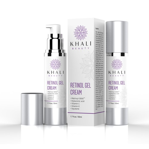 Luxurious Design for Skincare Line