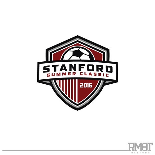 STANFORD SUMMER CLASSIC x  Soccer Tournament Logo Design