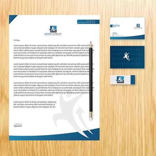 Simple stationery Design