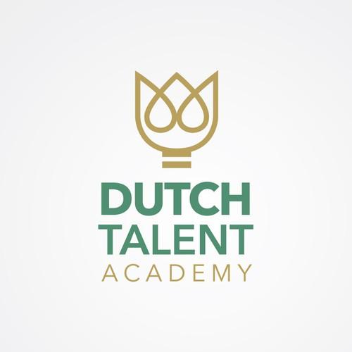 logo voor Dutch Talent Academy
