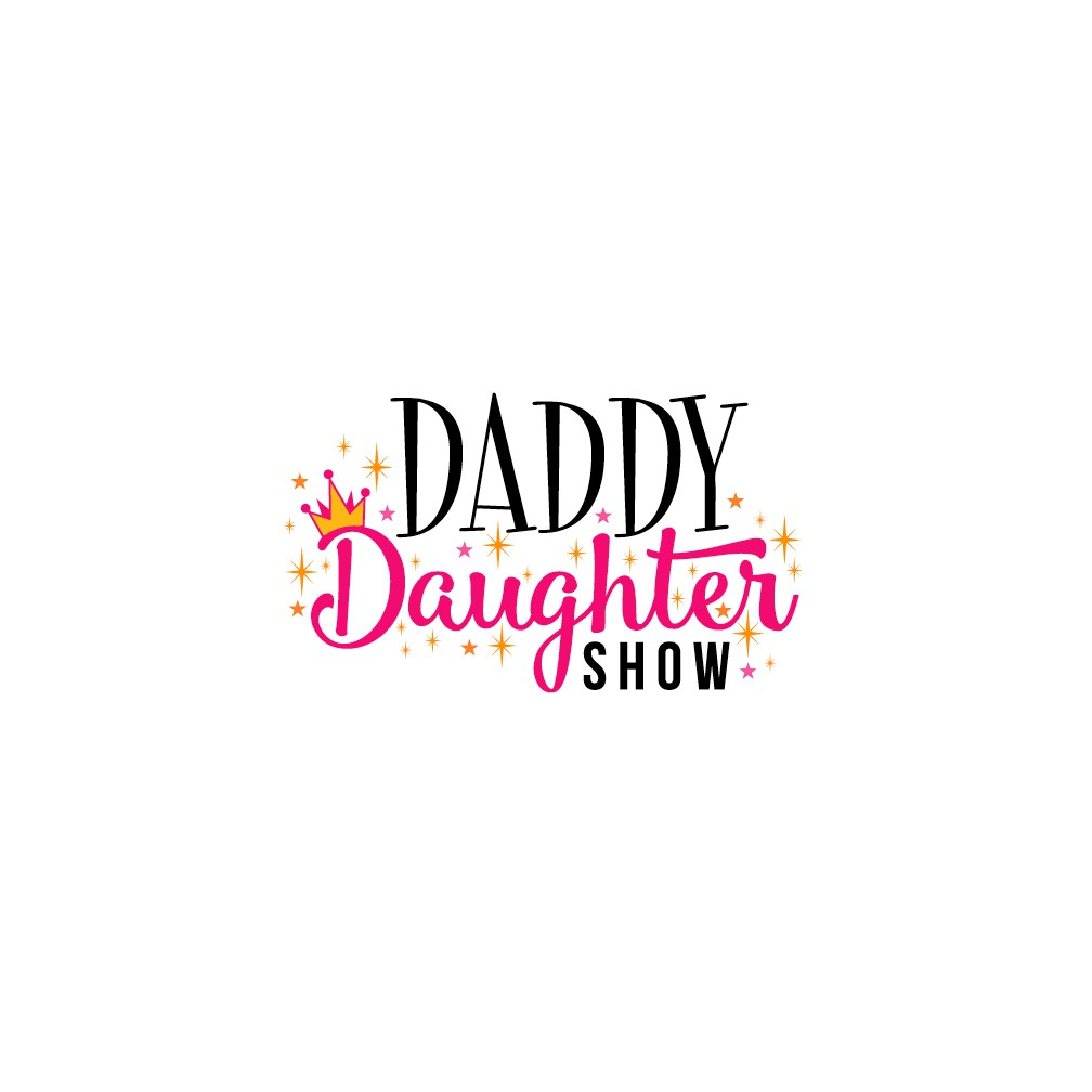 design a new hipster style logo for the daddy daughter show