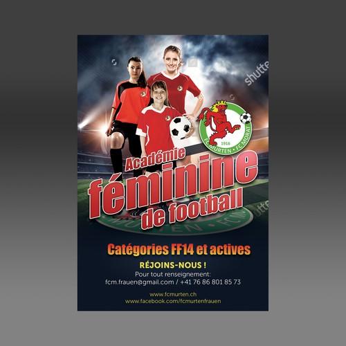 flyer Football Recruitment