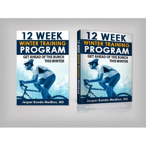 E-book Cover Design for Winter Training Program