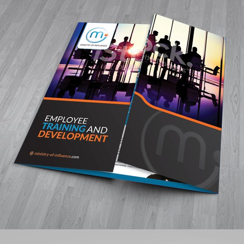 Attractive Elegant Corporate Training Brochure