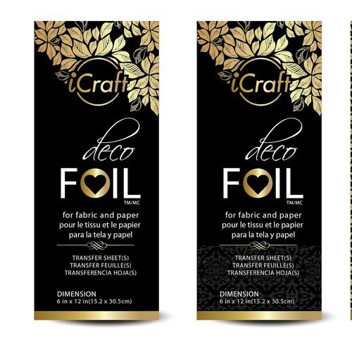 Clean, elegant, and trendy retail packaging