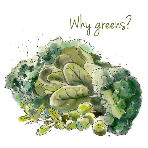Why greens?