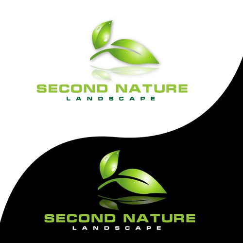 Second Nature Landscape Logo Design