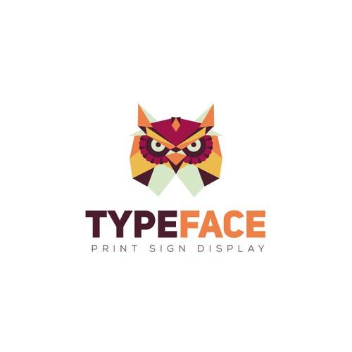 Logo design for a print and signage shop.