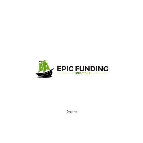 A bold Logo of Epic Funding Solutions