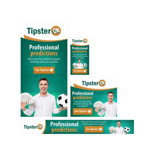 Tipster OK Banner Design