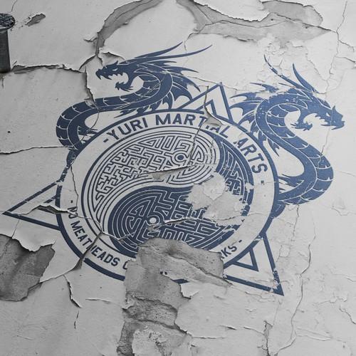 Logo concept for Yuri Martial Arts