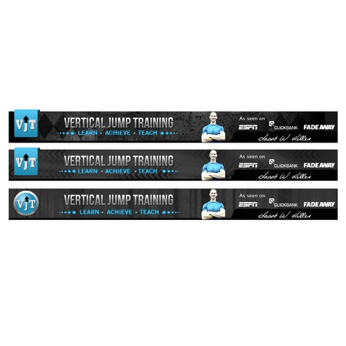 Banner design for Vertical Jump Training