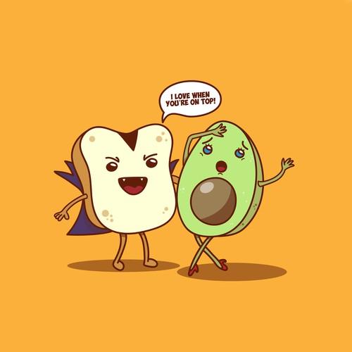Toast and Avocado T-Shirt