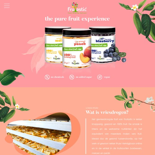 freeze dried fruit website