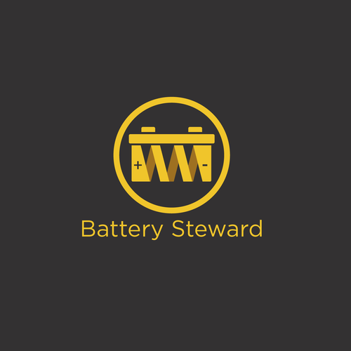 Create a logo for an Industrial battery maintenance phone app.