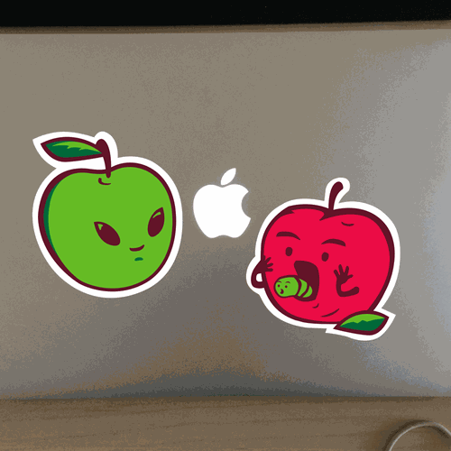 Stickers Apple