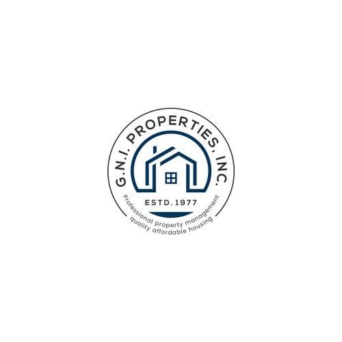 Logo concept for GNI PROPERTIES