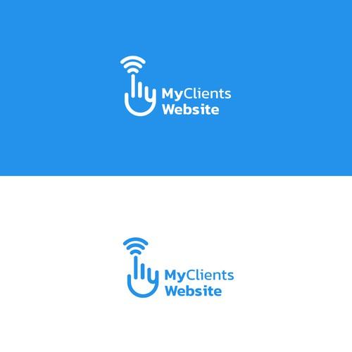 Logo concept MyClients Website
