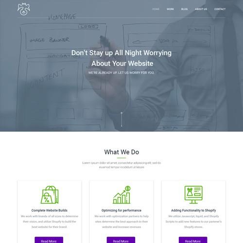 Web Agency Creative Design