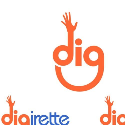 Digirette... We love our name. Help us love our logo.