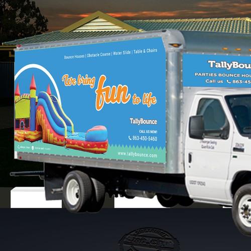 box truck design for TallyBounce