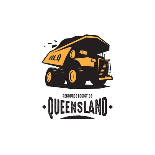 Queensland Resource Logistic LOGO