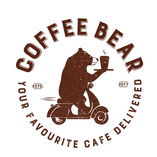 Logo fir coffee delivery