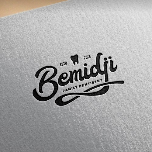 Vintage Logo for Bemidji Family Dentistry