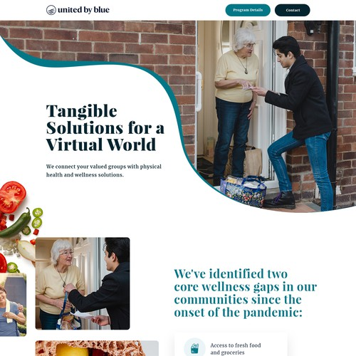 Design a B2B Foodie Website To Appeal To Health Insurance Companies