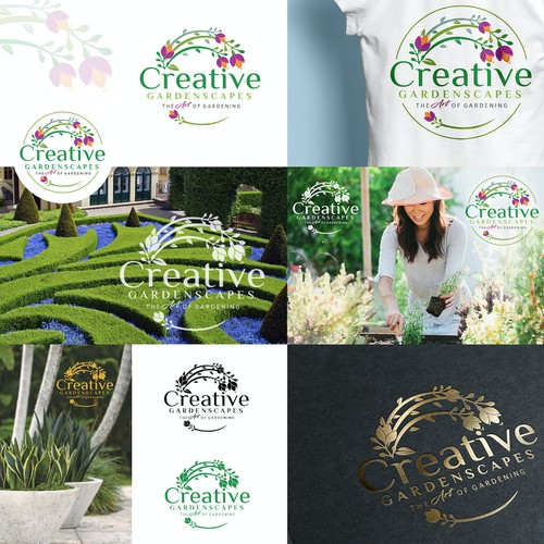 Creative the art of gardening