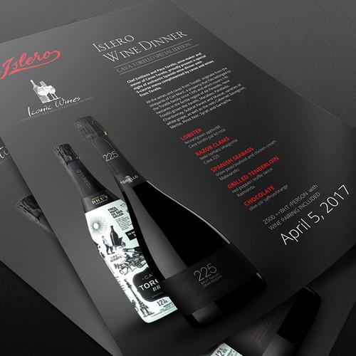 Islero Tasting Menu Design