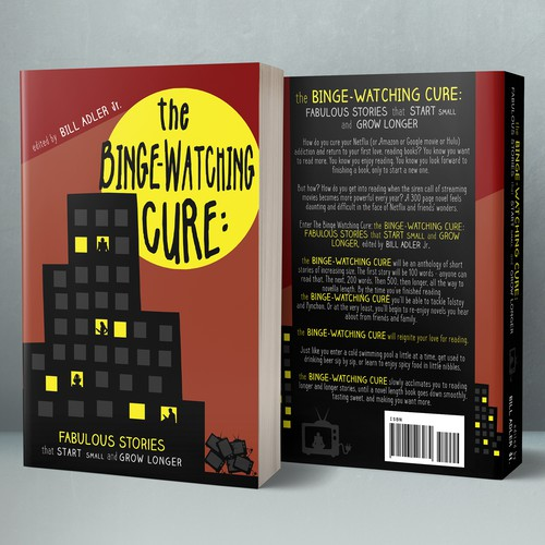 """Book cover for """"The Binge-Watching Cure"""""""