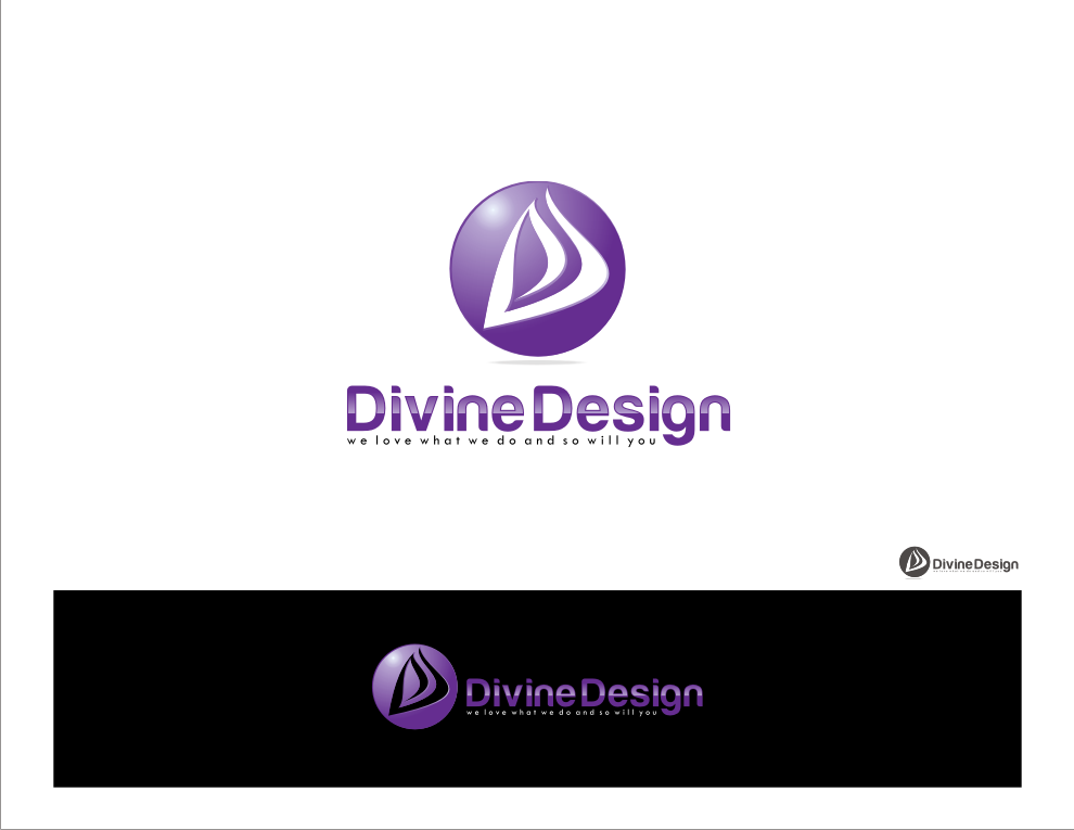 Create the next logo for Divine Design