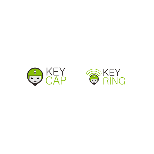 Creating descriptive logo's for door key cap/bluetooth sounder