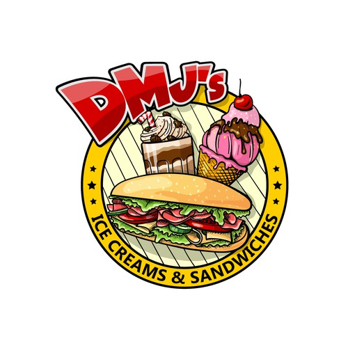 DMJ's Ice Creams and Sandwiches