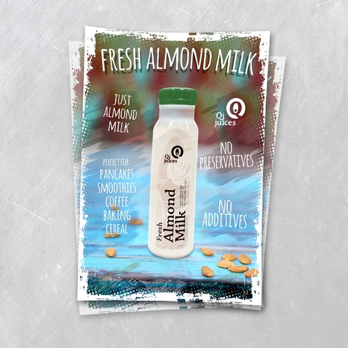 Fresh Almond Milk