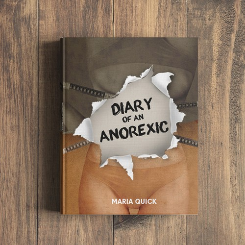 Cover book about anorexia