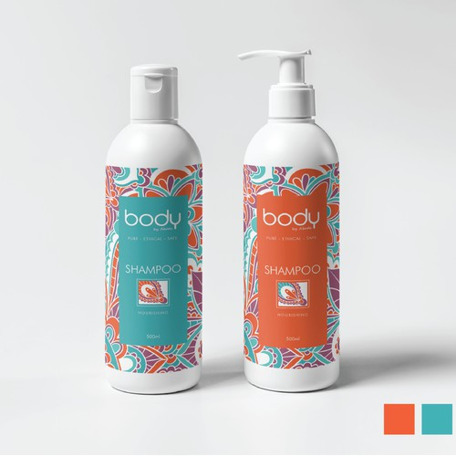 Body by Abode - labels