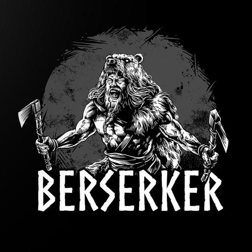 """design for the """"Berserker"""" t-shirt"""