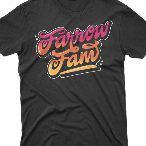 Farrow Fam Hand Lettering